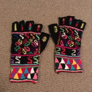 Funky Fingerless Gloves